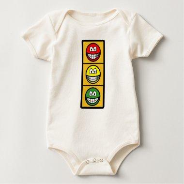 Traffic light smile   baby_toddler_apparel_tshirt