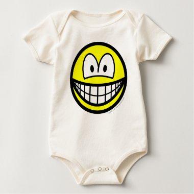 Big eyed smile   baby_toddler_apparel_tshirt