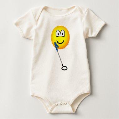 Metaldetector emoticon   baby_toddler_apparel_tshirt