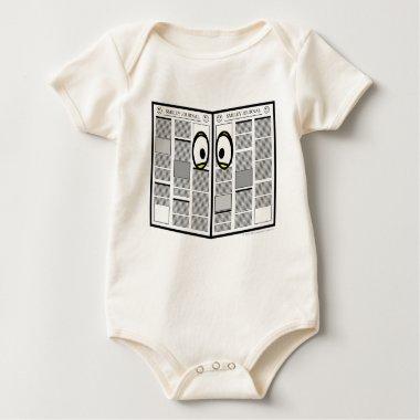Spying emoticon   baby_toddler_apparel_tshirt