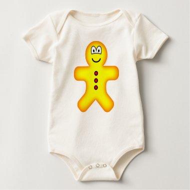 Gingerbread emoticon   baby_toddler_apparel_tshirt
