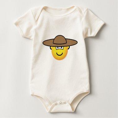 Mexican emoticon   baby_toddler_apparel_tshirt