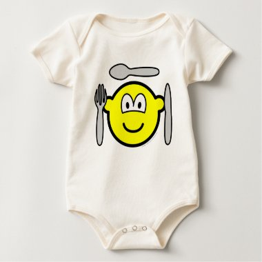 Cutlery buddy icon   baby_toddler_apparel_tshirt