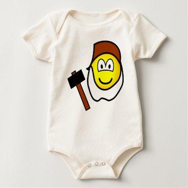 Grumpy emoticon Seven Dwarves  baby_toddler_apparel_tshirt