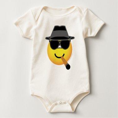 Maffia emoticon   baby_toddler_apparel_tshirt