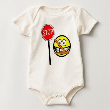 Safety patrol smile   baby_toddler_apparel_tshirt