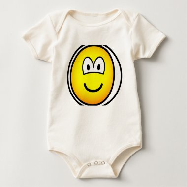 Sore tooth emoticon Bandaged  baby_toddler_apparel_tshirt