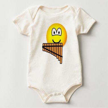 Panflute emoticon   baby_toddler_apparel_tshirt
