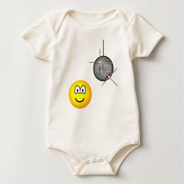 Disco emoticon   baby_toddler_apparel_tshirt