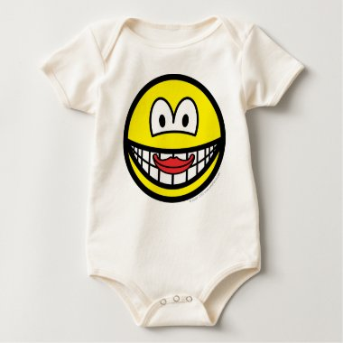 Kissing smile   baby_toddler_apparel_tshirt