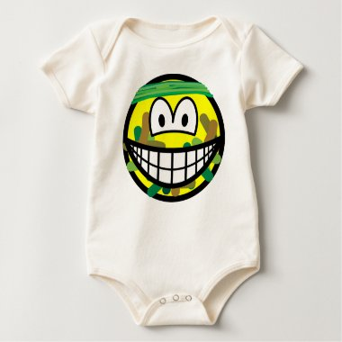 Camouflage smile   baby_toddler_apparel_tshirt