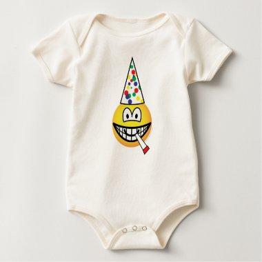 Party emoticon   baby_toddler_apparel_tshirt