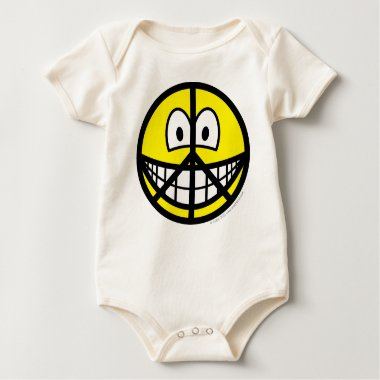 Peace smile   baby_toddler_apparel_tshirt