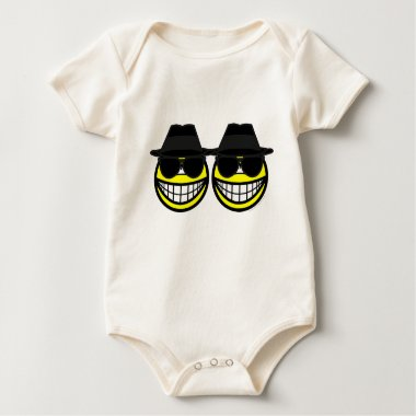 Blues Brothers smilies   baby_toddler_apparel_tshirt