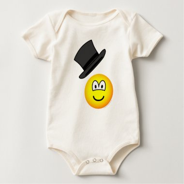 Tip-of-the-hat emoticon   baby_toddler_apparel_tshirt