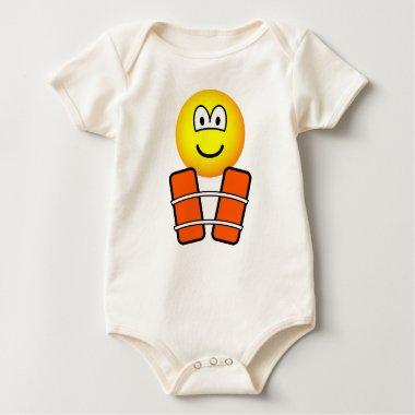 Life jacket emoticon   baby_toddler_apparel_tshirt
