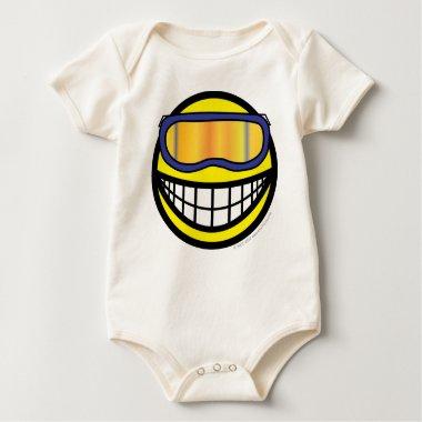 Skier smile (it's colder)  baby_toddler_apparel_tshirt