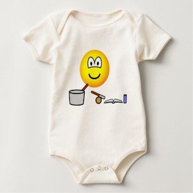 Cooking emoticon   baby_toddler_apparel_tshirt