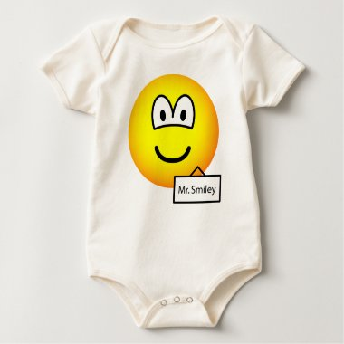 Name tag emoticon   baby_toddler_apparel_tshirt