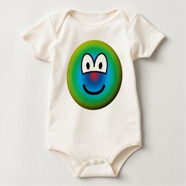 Psychedelic emoticon   baby_toddler_apparel_tshirt