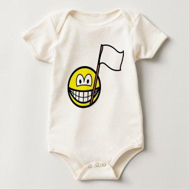 White flag smile   baby_toddler_apparel_tshirt