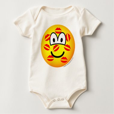 Kisses emoticon   baby_toddler_apparel_tshirt