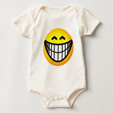 Big grin emoticon   baby_toddler_apparel_tshirt