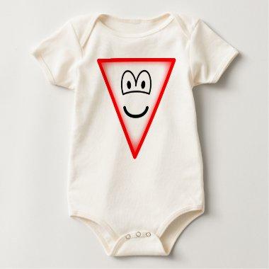 Yield emoticon   baby_toddler_apparel_tshirt