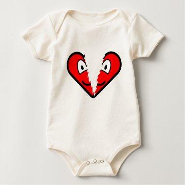 Broken heart buddy icon   baby_toddler_apparel_tshirt