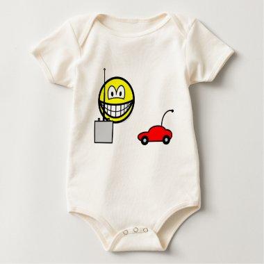 RC car smile Remote control  baby_toddler_apparel_tshirt