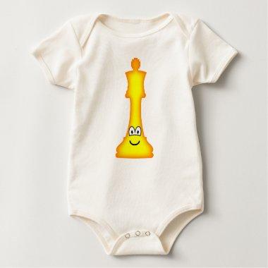 King Chess emoticon  baby_toddler_apparel_tshirt