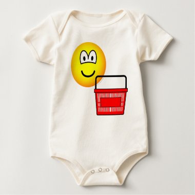 Shopping emoticon Basket  baby_toddler_apparel_tshirt