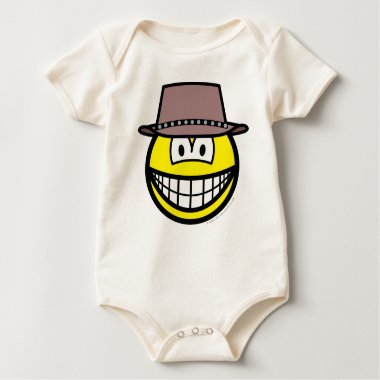 Cowboy smile   baby_toddler_apparel_tshirt