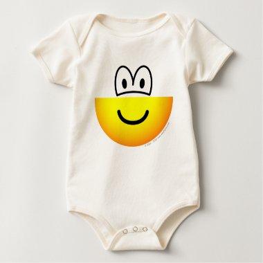 Half emoticon bottom  baby_toddler_apparel_tshirt