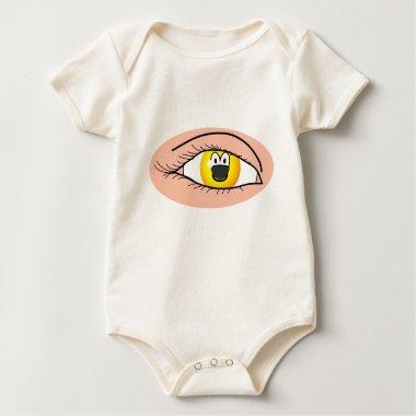 Eye emoticon   baby_toddler_apparel_tshirt