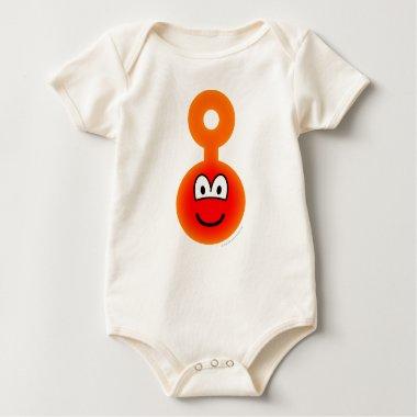Teletubbie emoticon Po  baby_toddler_apparel_tshirt