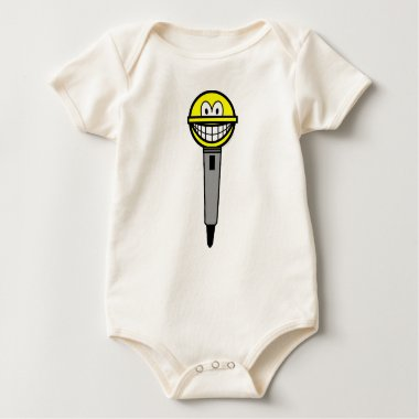 Microphone smile   baby_toddler_apparel_tshirt