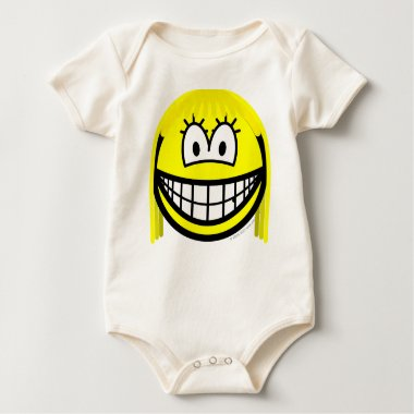 Samantha smile Sex and the City  baby_toddler_apparel_tshirt