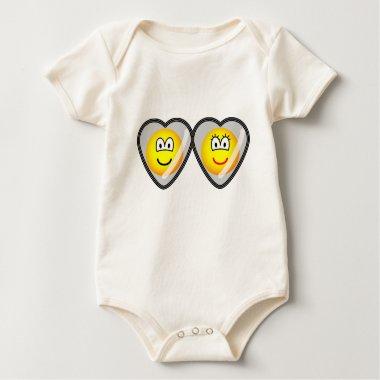 Locket emoticon   baby_toddler_apparel_tshirt