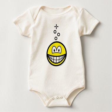 Drunk smile   baby_toddler_apparel_tshirt