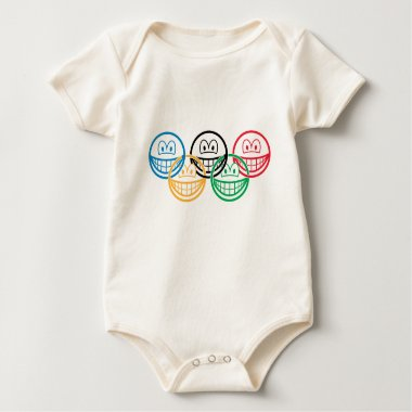 Olympic smile   baby_toddler_apparel_tshirt
