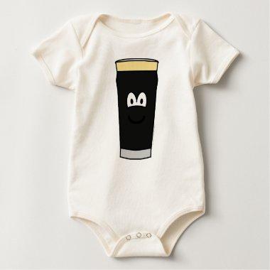 Guinness emoticon   baby_toddler_apparel_tshirt