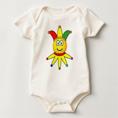 April fools emoticon   baby_toddler_apparel_tshirt