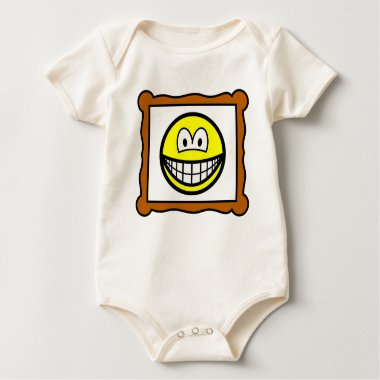 Picture frame smile   baby_toddler_apparel_tshirt