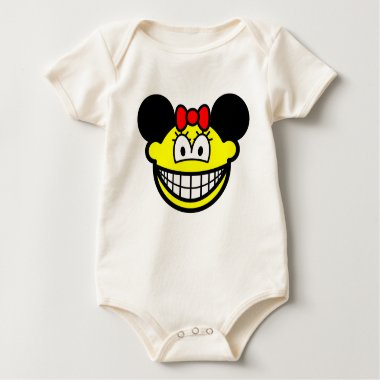 Minnie Mouse smile   baby_toddler_apparel_tshirt