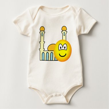 Mosque going emoticon   baby_toddler_apparel_tshirt