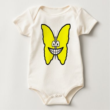 Butterfly smile   baby_toddler_apparel_tshirt