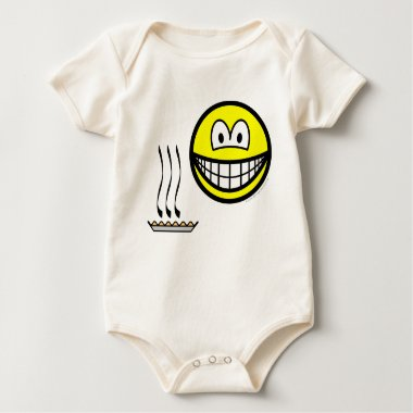Pie baked smile   baby_toddler_apparel_tshirt