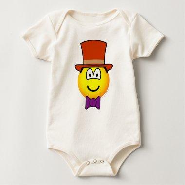 Willy Wonka emoticon   baby_toddler_apparel_tshirt