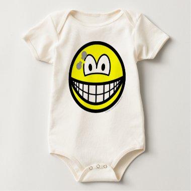 Pierced smile   baby_toddler_apparel_tshirt